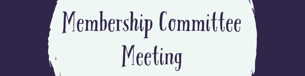 Membership Meeting Graphic