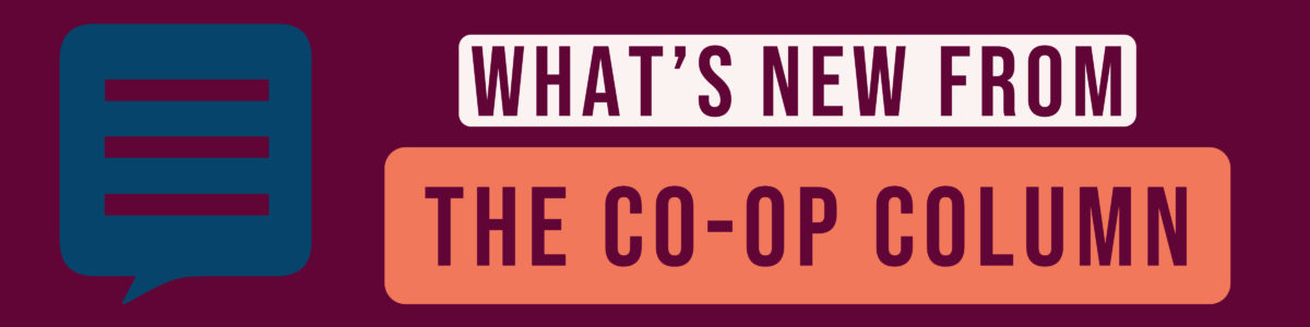What's new from the Co-op Column graphic