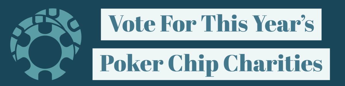poker chip charities graphic