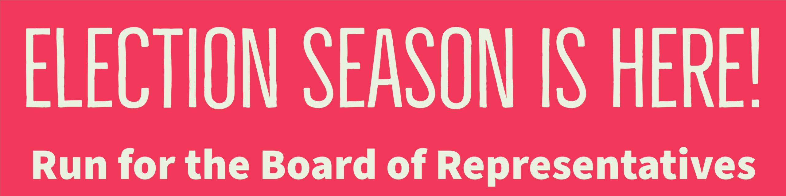 Co-op election season is here